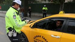 Bolu'da trafik ekipleri, taksimetre açmayan sürücülere ceza kesti