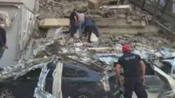 Gürcistan'da 5 katlı bina çöktü