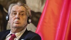 Çekya Devlet Başkanı Milos Zeman hastaneye kaldırıldı