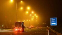 İstanbul'da gece saatlerinde sis etkili oldu