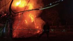 Erzurum'daki yangın  2 ev, 5 ahır ve 1 kileri kül etti