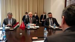 Mustafa Varank, Tacikistanlı mevkidaşı Kabir ile görüştü