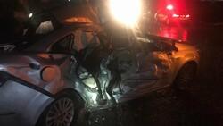 Sakarya'da tır ile otomobil çarpıştı: 3 yaralı