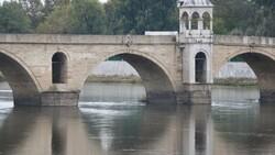 Edirne'de nehirlerde su taşkını yaşandı