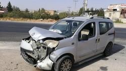 Gaziantep'te meydana gelen kazada 3 kişi yaralandı