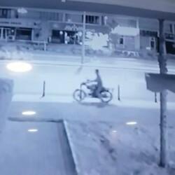 Konya'da motosiklet çalan hırsız