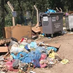 Erdek, tatilcilerden sonra çöpten geçilmiyor
