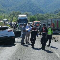 Karabük'te trafik kazası: 2 ölü