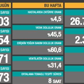 13 Ocak Türkiye'de koronavirüs tablosu