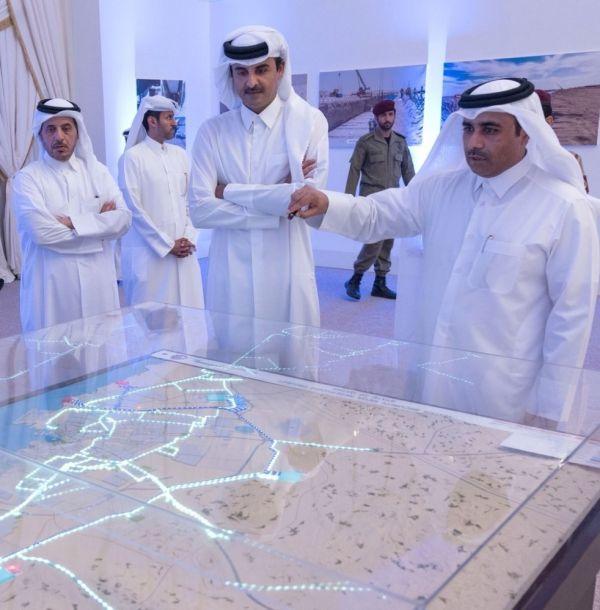 Katar Emiri dünyanın en büyük su projesini hayata geçirdi
