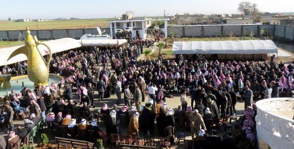 Suriyeli aşiret ve kabile reisleri Türkiye'nin yanında