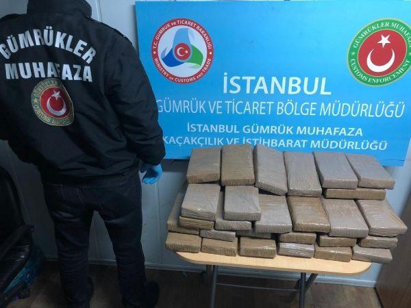Muz konteynerinden 16 milyon liralık kokain çıktı