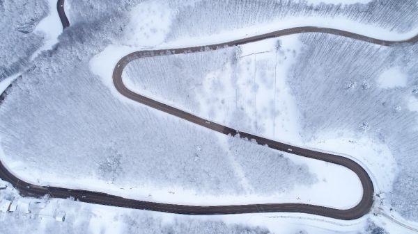 Uludağ zirvesinde zincir güvenliği: Jandarma 24 saat nöbette