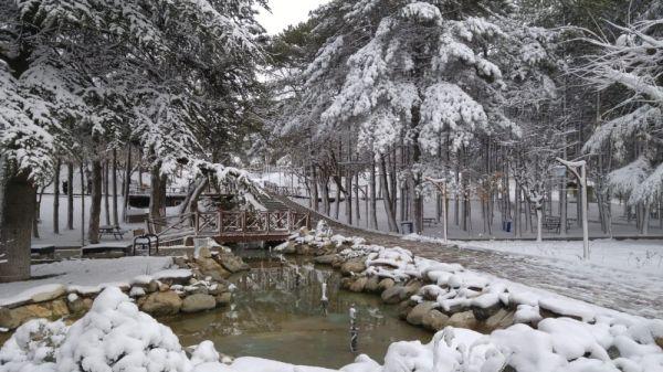 Afyonkarahisar'ın Bolvadin ilçesi gelinliğini giydi