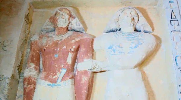 Mısır'da antik Roma'dan kalma lahitler bulundu