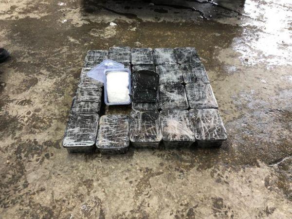 Van'da bir otomobilde 11 kilo metamfetamin yakalandı