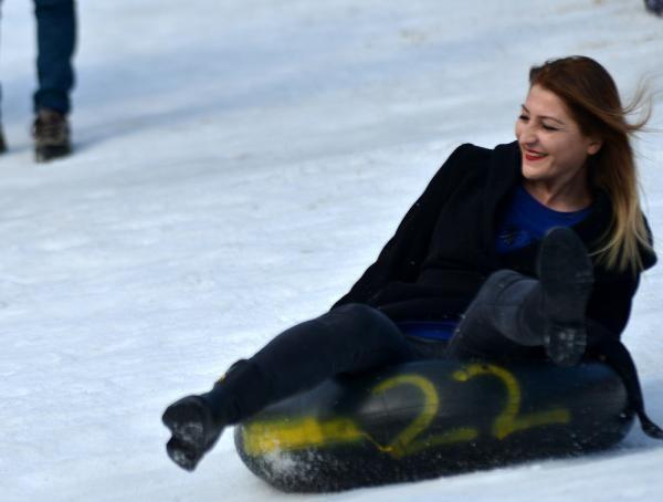 Rize'de kar festivali başladı