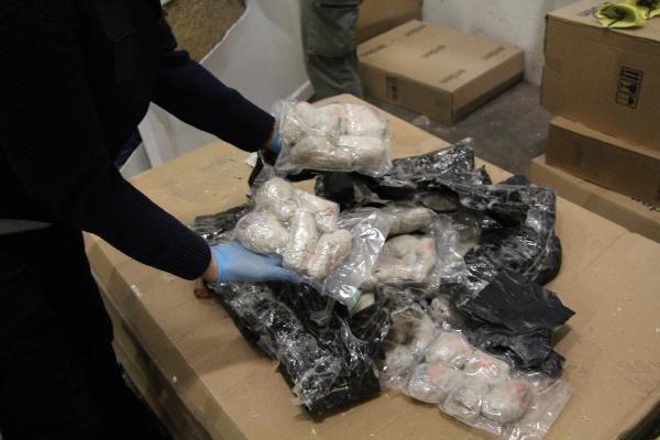 Tırda duş teknelerine gizlenmiş 454 kilo eroin ele geçirildi