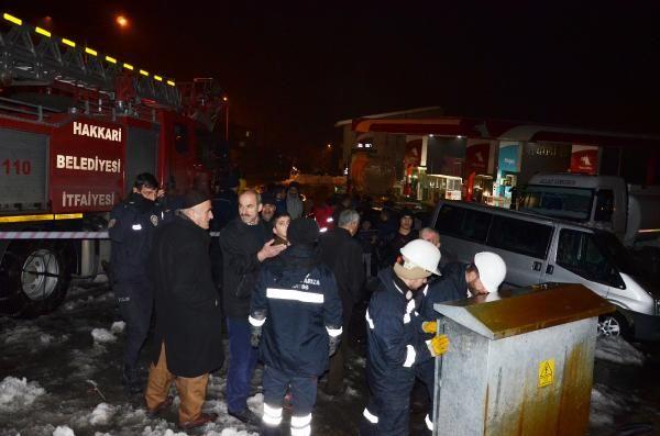 Hakkari'de trafodaki patlama korkuttu