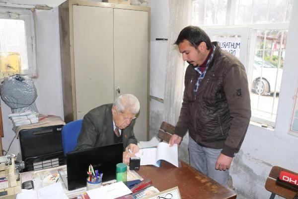 Denizli'de 90 yaşındaki muhtar yeniden aday