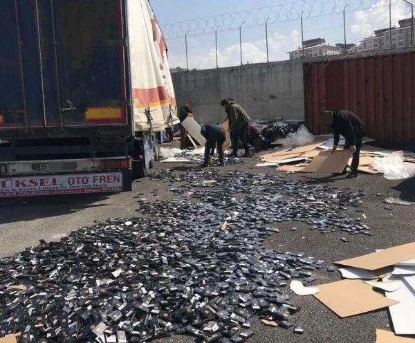Van'da 2018 yılında 1 milyon 697 bin paket kaçak sigara