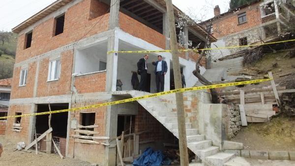 Balıkesir'de heyelan nedeniyle 6 ev boşaltıldı