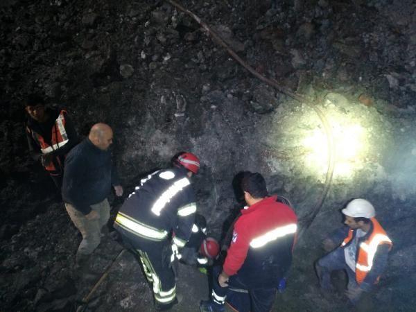 Tünel inşaatında göçük: 1 işçi hayatını kaybetti