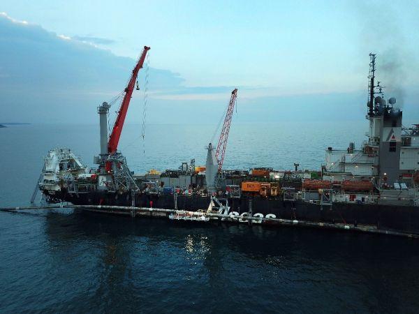 TürkAkım'ın Karadeniz'deki boru hattı sistemi tamamlandı