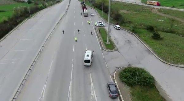 Bolu'da aracın yakıt deposundan 22 kilo eroin çıktı