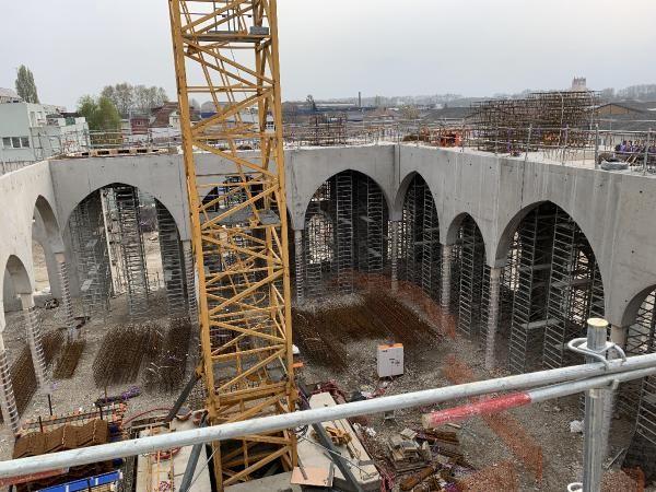 Strasburg'da Avrupa'nın en büyük camisinin yapımı sürüyor