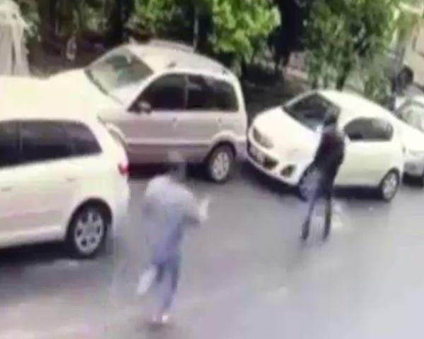 Kağıthane'de damat cinayetinin kamera kayıtları çıktı