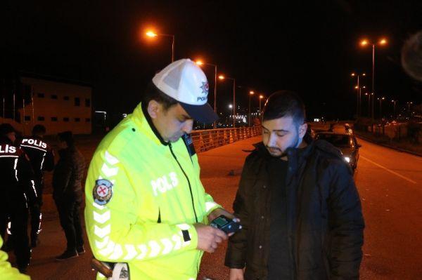 Alkollü sürücünün cezaya tepkisi: Biraz daha içerdim