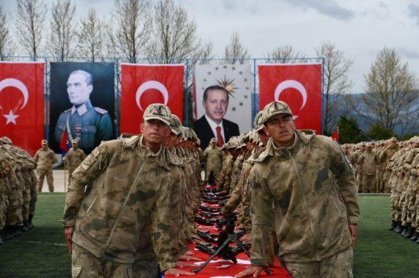 Safranbolu'da 2 bin 547 uzman erbaş yemin etti