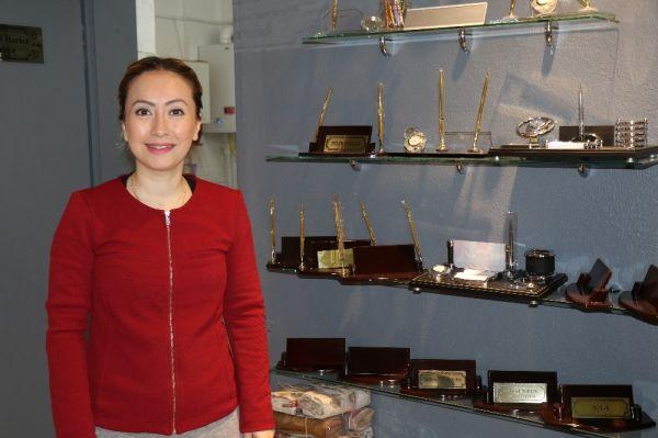 Zonguldak'ta kadın yatırımcının başarısı