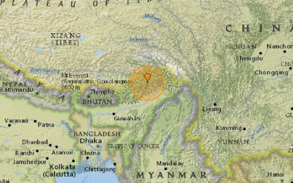 Hindistan'da deprem