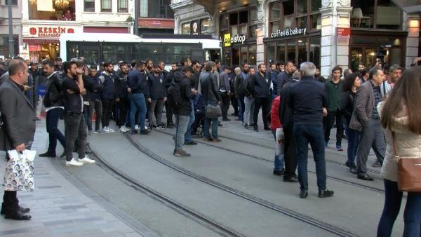 Polis Taksim'de Soma protestosuna izin vermedi
