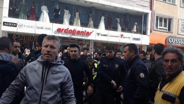 Kocaeli'de, aracını çeken polislerle tartışınca gözaltına alındı
