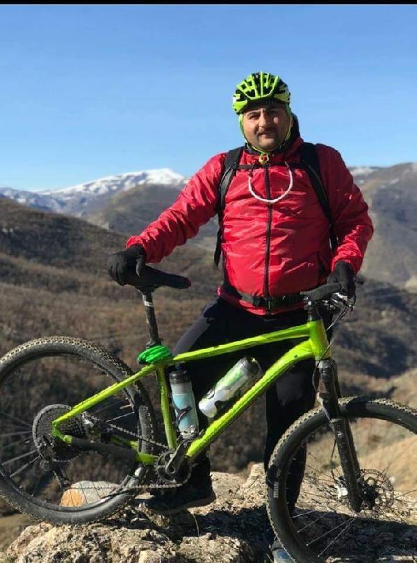 Tokat'ta bisikletiyle duvardan düşen öğretmen toprağa verildi