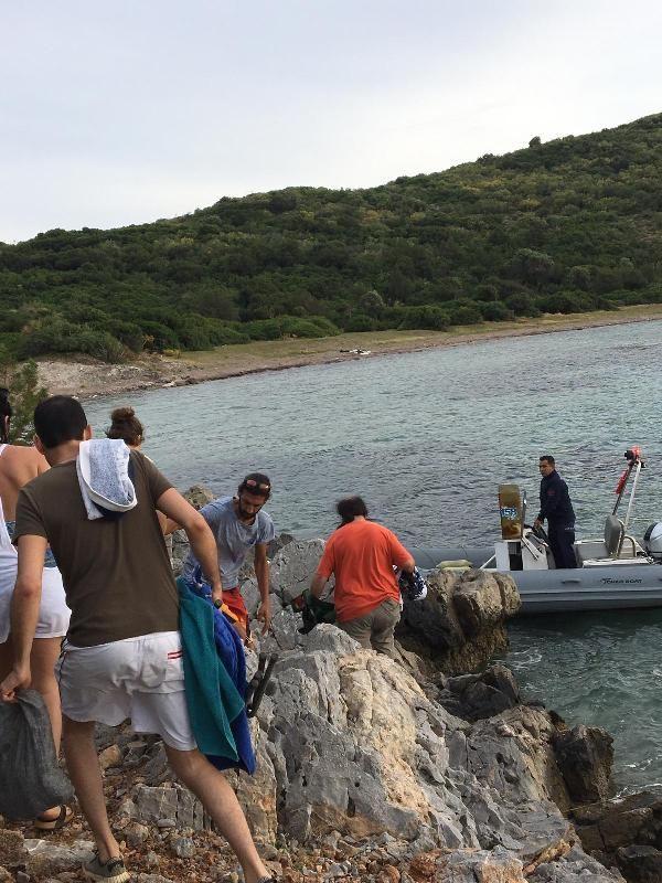 Piknik yaparken hayvanların saldırdığı 5 kişi kurtarıldı