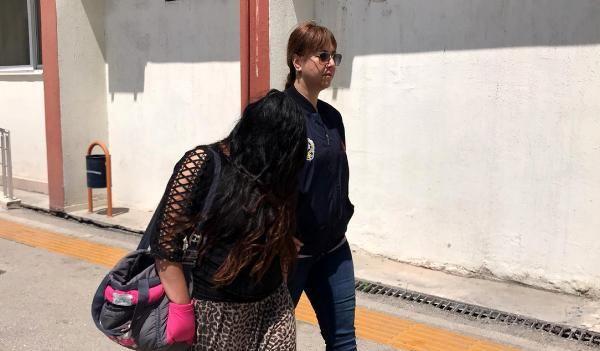 Mersin'de hırsızlık yapan kadın, polisten kaçamadı