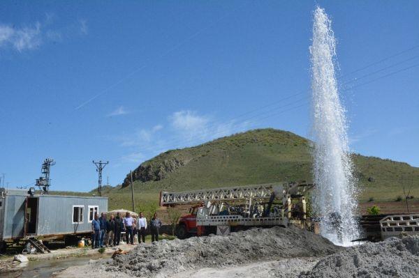 Bitlis'te termal su kaynağı bulundu