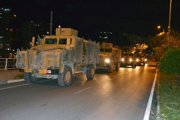 TSK'dan Reyhanlı'ya askeri sevkiyat