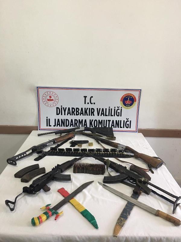 Diyarbakır'da silah kaçakçılarına operasyon: 7 gözaltı