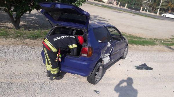 Denizli'de kaza: 1 yaralı