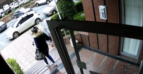 Bebek bakıcısı hırsız kamerada