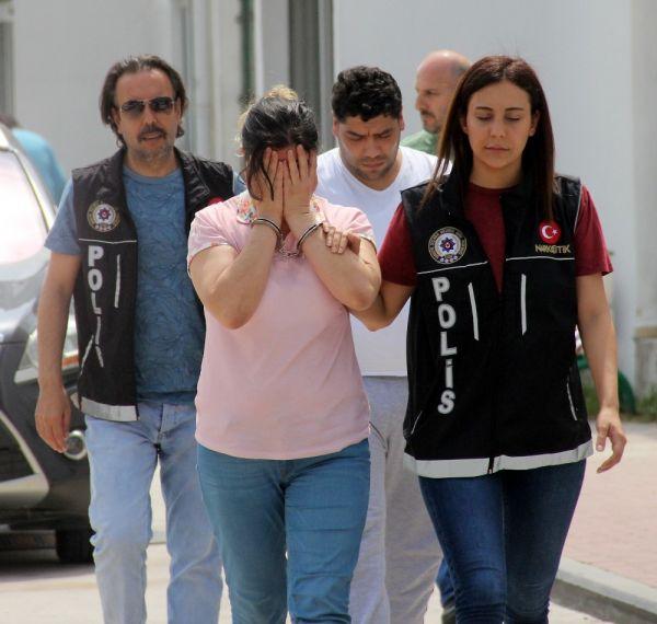 İmam nikahlı eşiyle torbacılık yapan kadın tutuklandı