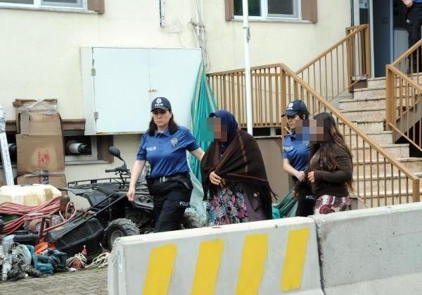 Yalova'da aile çetesi yakalandı