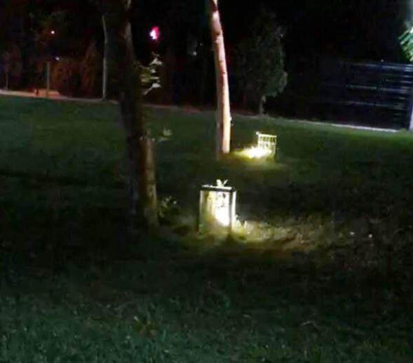 Parkta oynayan küçük kızı elektrik çarptı