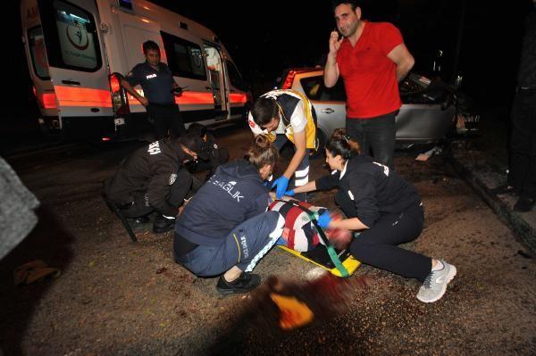 Ağaca çarpan otomobilin sürücüsü, ağır yaralandı
