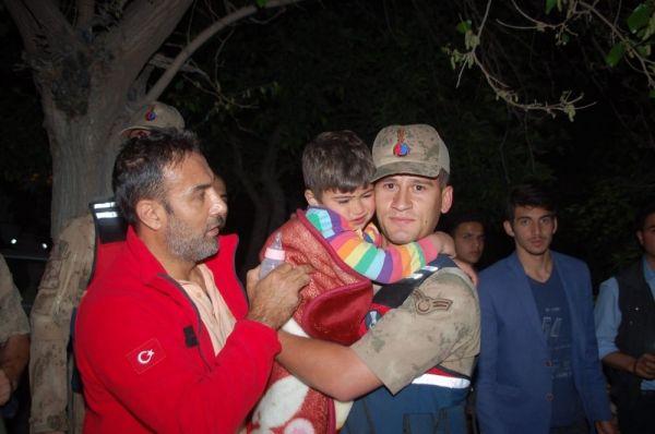 Kahramanmaraş'ta kaybolan küçük Mustafa'dan iyi haber